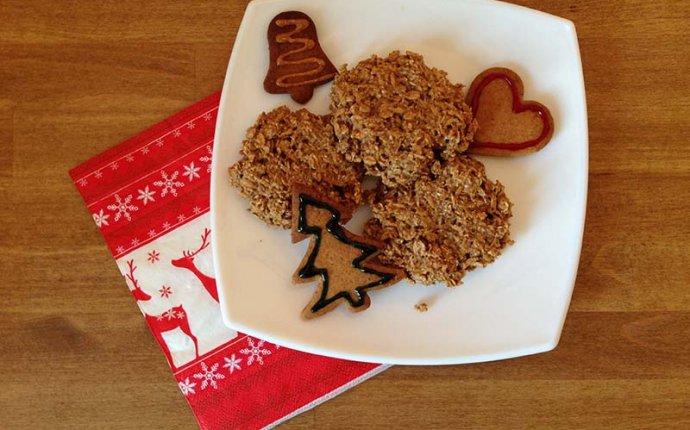 Рецепт диетического печенья из хлопьев без сахара и муки